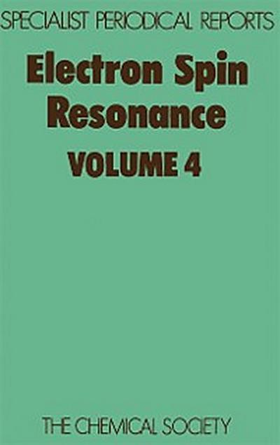Electron Spin Resonance