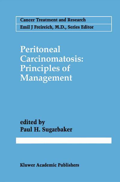 Peritoneal Carcinomatosis: Principles of Management
