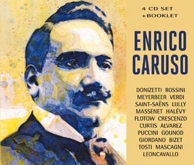 Enrico Caruso, 4 Audio-CDs