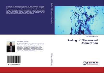 Scaling of Effervescent Atomization