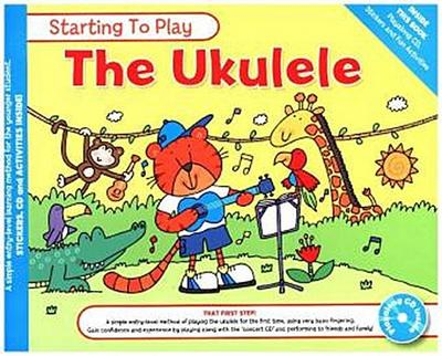 MUSIC FOR KIDS: Starting To Play Ukulele (Book & CD)