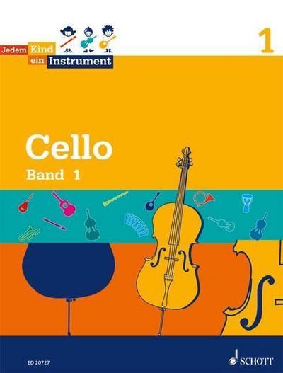 Jedem Kind ein Instrument: Band 1 - JeKi. Violoncello. Schülerheft.
