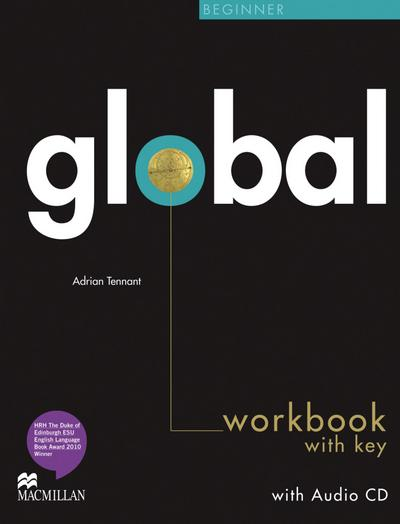 Global. Beginner. Workbook with Audio-CD and Key