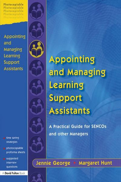 Appointing and Managing Learning Support Assistants