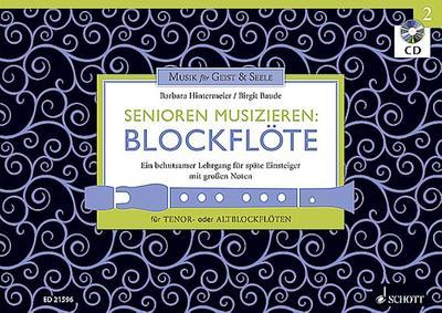 Senioren musizieren 02. Tenor- oder Alt-Blockflöte