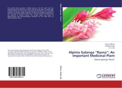 Alpinia Galanga 'Rasna': An Important Medicinal Plant
