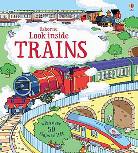 Look Inside Trains | Alex Frith |  9781409582083