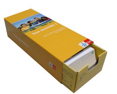 Tous ensemble, Ausgabe ab 2004 2. Lernjahr, Vokabel-Lernbox