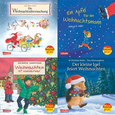 Maxi-Pixi-Serie Nr. 48: Fröhliche Weihnachten mit Maxi Pixi. 4 x 5 Exemplare