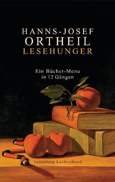 Lesehunger - Ein Bücher-Menu in 12 Gängen