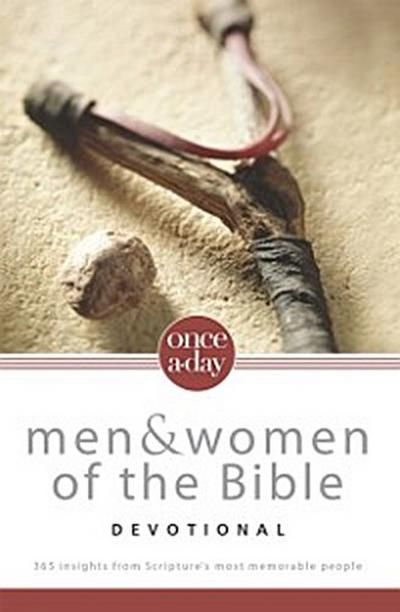 NIV, Once-A-Day: Men and Women of the Bible Devotional, eBook
