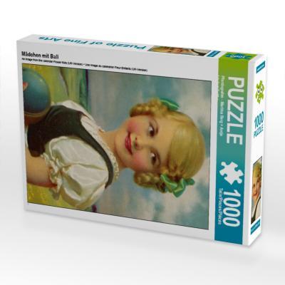 Mädchen mit Ball (Puzzle)