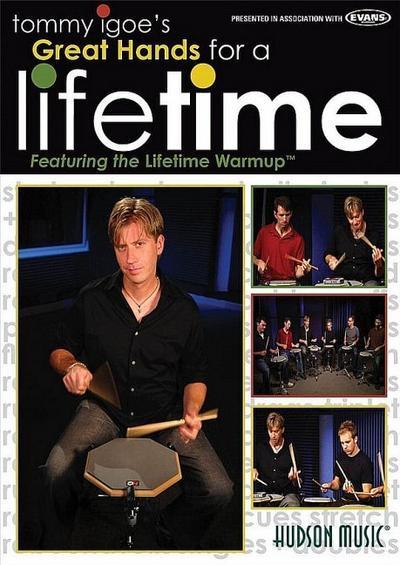 Great Hands for a Lifetime : DVD-Videofor drum set