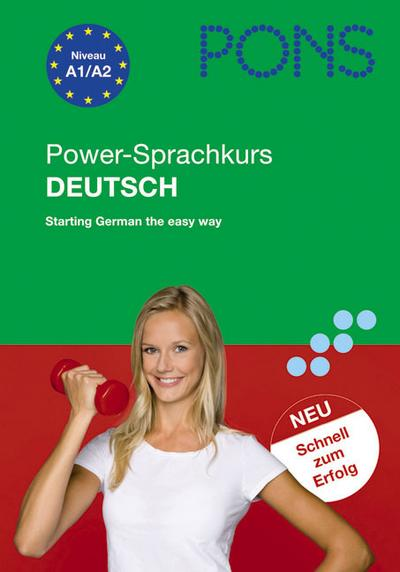 PONS Power-Sprachkurs Deutsch als Fremdsprache. Mit 2 Audio-CDs: Starting German the easy way von Breslauer. Christine (2010) Broschiert