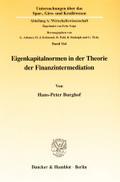 Eigenkapitalnormen in der Theorie der Finanzi ...