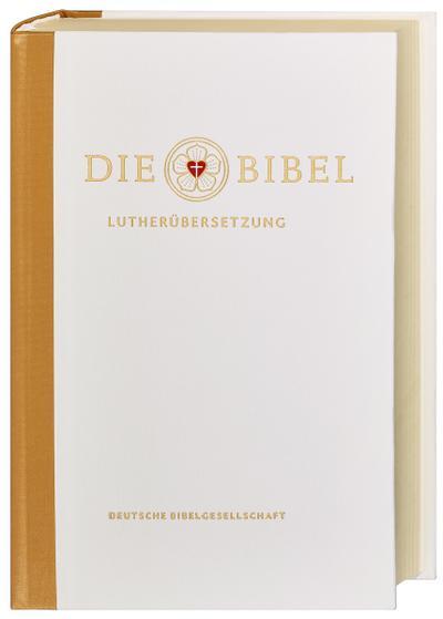 Die Bibel nach Martin Luthers Übersetzung - Lutherbibel revidiert 2017: Traubibel. Mit Apokryphen und Familienchronik