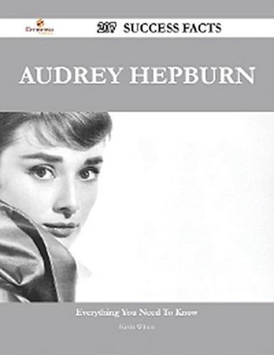 Audrey Hepburn 207 Success Facts - Everything you need to know about Audrey Hepburn