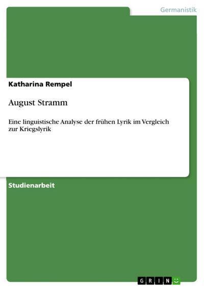 August Stramm
