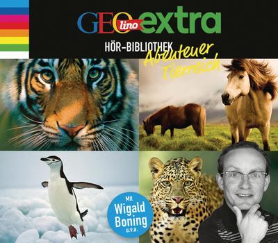 GEOlino extra Hör-Bibliothek: Abenteuer Tierreich