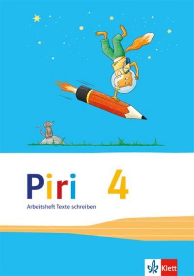 Piri Das Sprach-Lese-Buch / Arbeitsheft Druckschrift, 4. Schuljahr 3Hefte