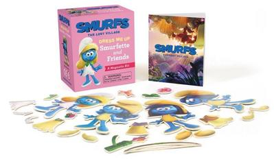 Smurfs the Lost Village: Dress Me Up Smurfette and Friends: A Magnetic Kit