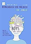 Vicky Bo's tolles Mitmachbuch und Malbuch - Jungen