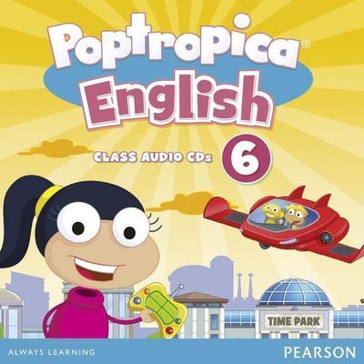 Poptropica English American Edition 6 Audio CD