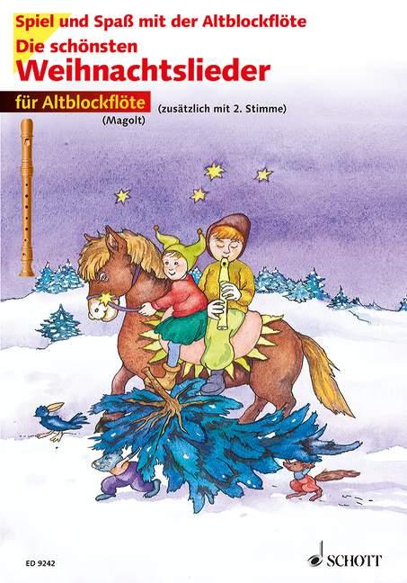 Die schönsten Weihnachtslieder, Für Altblockflöte Christa Estenfeld-Kropp