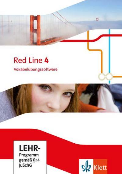 Red Line 4. Vokabelübungssoftware Klasse 8. Ausgabe 2014