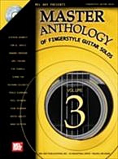 Master Anthology of Fingerstyle Guitar Solos, Volume 3
