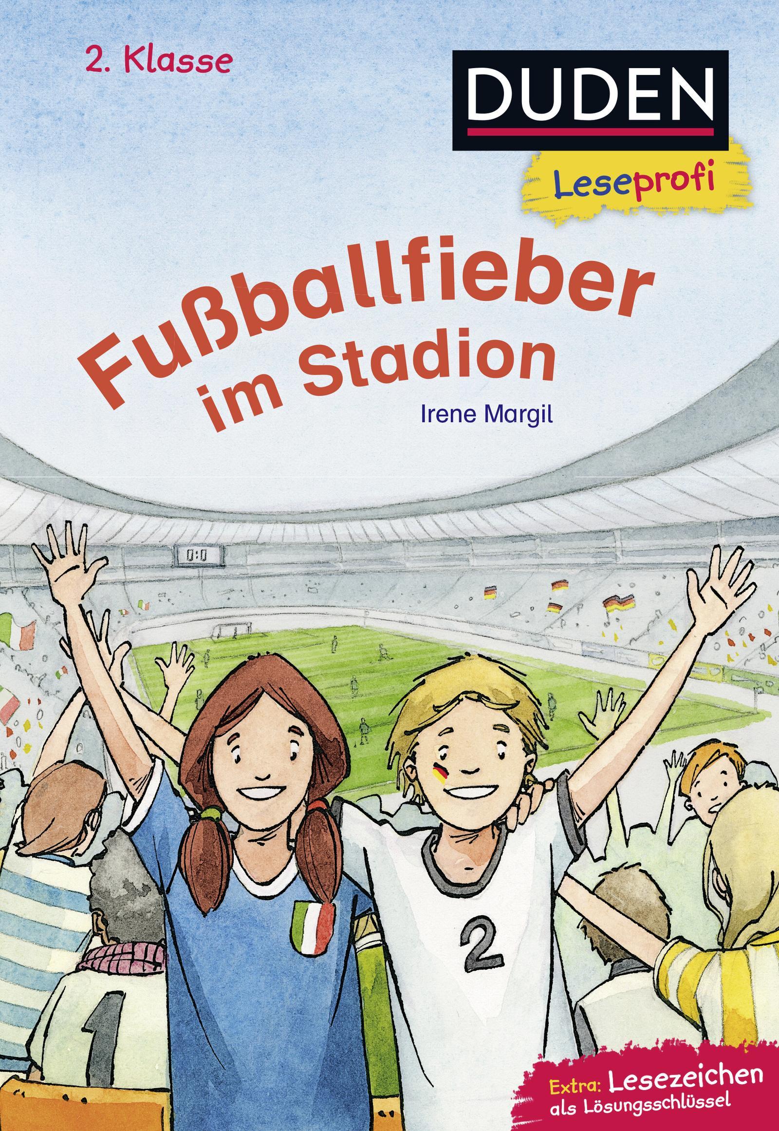 Leseprofi - Fußballfieber im Stadion, 2. Klasse, Irene Margil