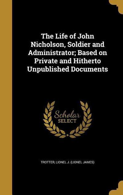 LIFE OF JOHN NICHOLSON SOLDIER