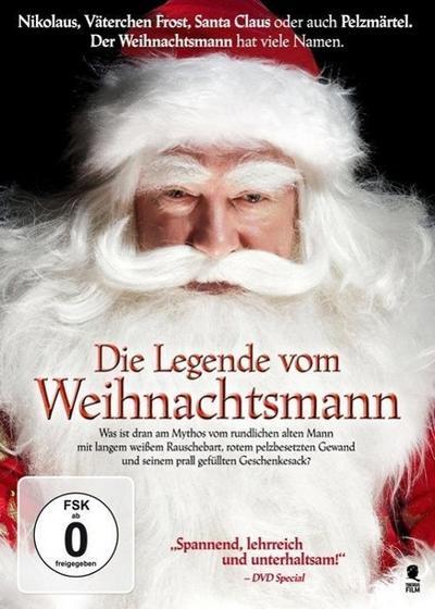 Die Legende vom Weihnachtsmann, 1 DVD