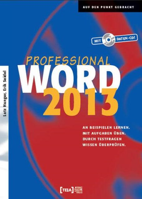 Word 2013 Professional Buch, Lutz Hunger