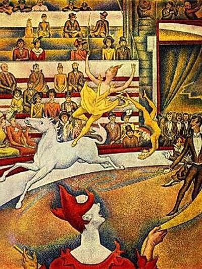 Georges Seurat - Der Zirkus - 200 Teile (Puzzle)