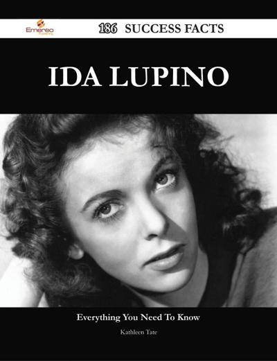 Ida Lupino 186 Success Facts - Everything you need to know about Ida Lupino