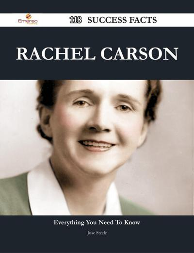 Rachel Carson 118 Success Facts - Everything you need to know about Rachel Carson