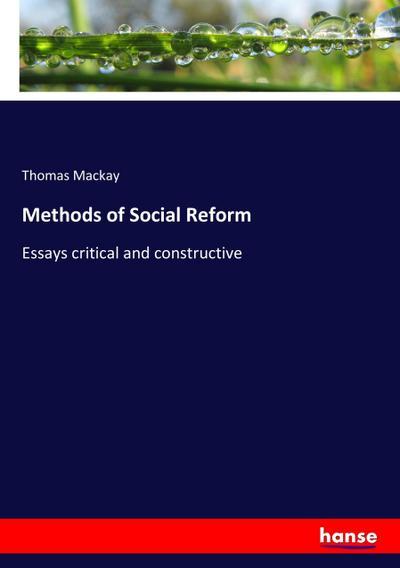 Methods of Social Reform