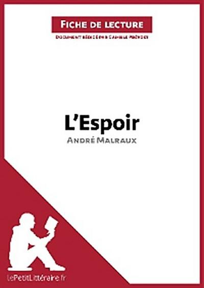 L'Espoir d'André Malraux (Fiche de lecture)