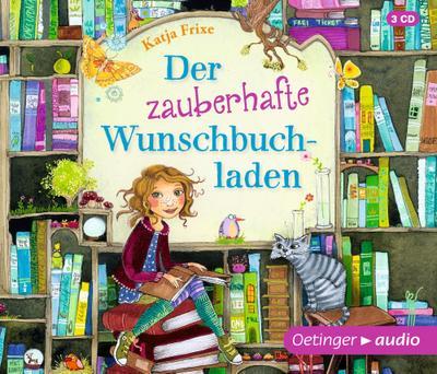 Der zauberhafte Wunschbuchladen 1. (3 CD)