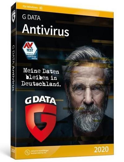 G DATA AntiVirus Windows 2020 1PC. Für Windows 7/8/10