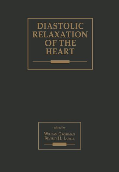 Diastolic Relaxation of the Heart