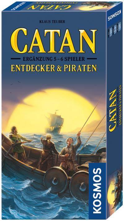 Die Siedler von Catan, Entdecker & Piraten (Spiel-Zubehör)