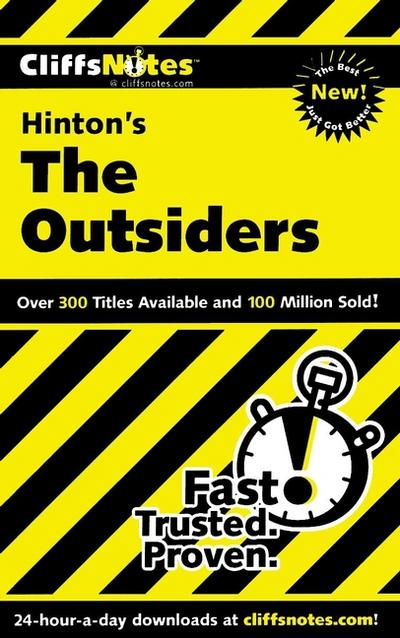 CliffsNotes on Hinton's The Outsiders