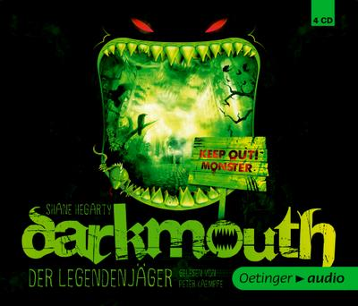 Darkmouth - Der Legendenjäger (4 CD); Gekürzte Lesung, 300 Min.   ; Ill. v. Schaaf, Moritz /Sprecher: Kaempfe, Peter; Deutsch; Audio-CD