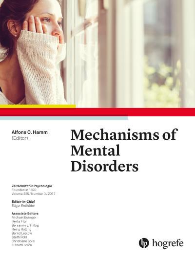 Mechanisms of Mental Disorders