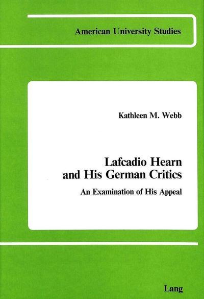 Lafcadio Hearn and His German Critics