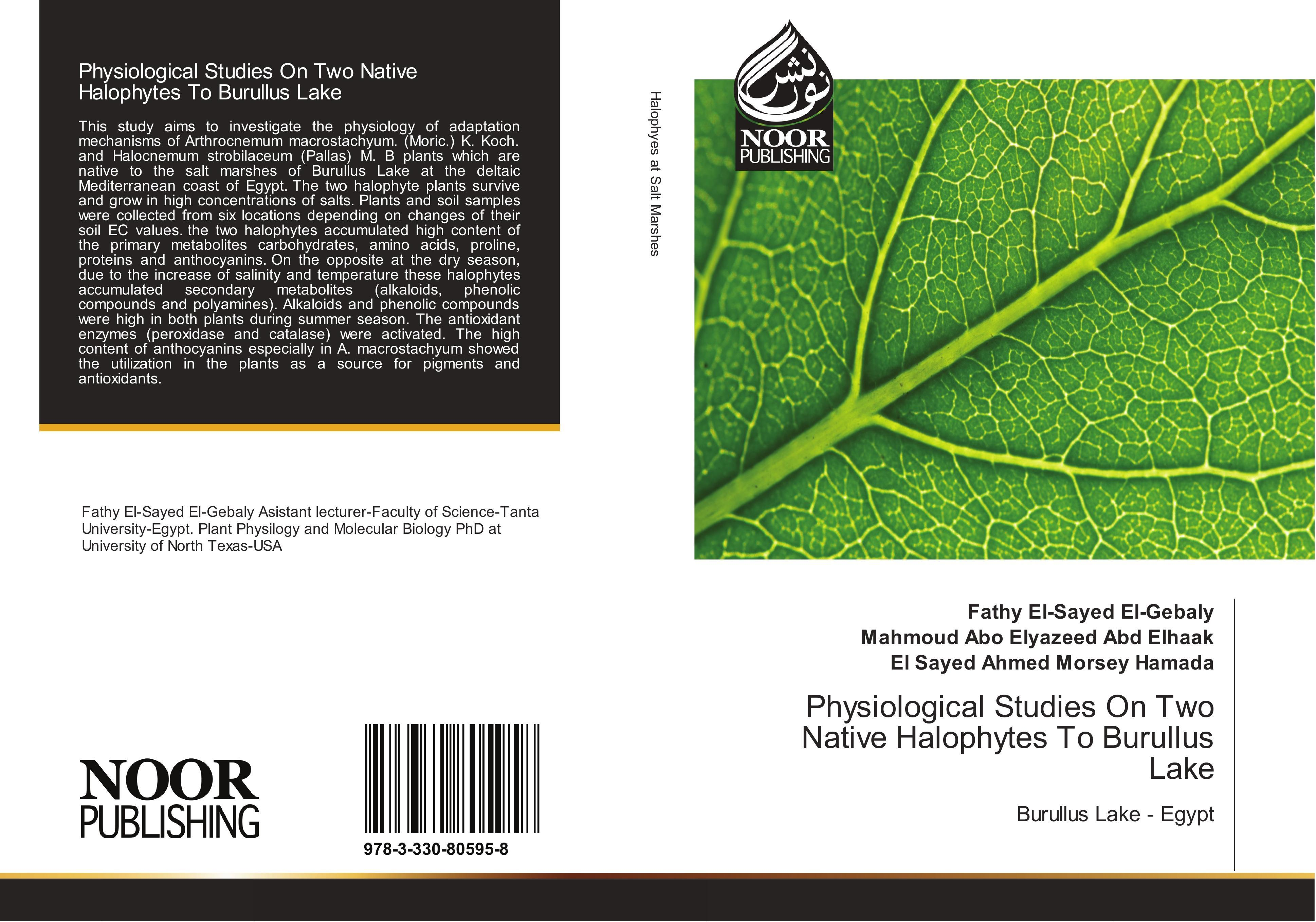 Physiological Studies On Two Native Halophytes To Burullus L ... 9783330805958