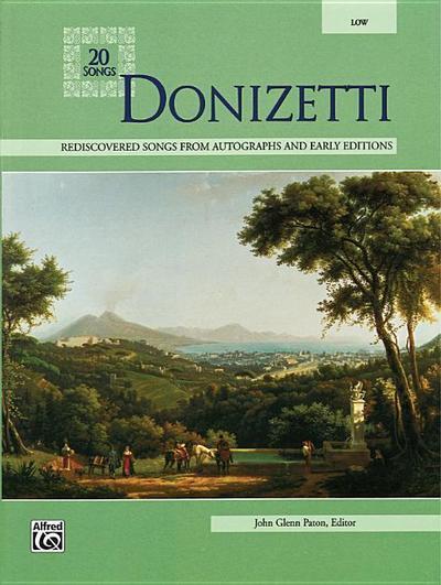 Donizetti: Low Voice