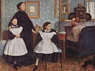 Edgar Germain Hilaire Degas - Porträt der Familie Bellelli - 200 Teile (Puzzle)